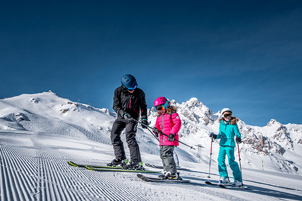 location materiel de ski courchevel famille